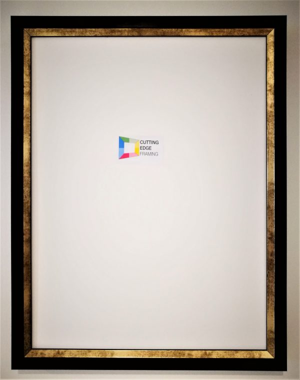 Mahogany Gold DIY Jersey Frame